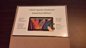 GeeekPi 7 Inch 1024x600 Capacitive Touch Screen HDMI Monitor TFT