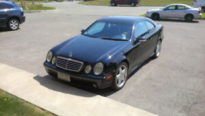 2002 Mercedes Benz 430 CLK