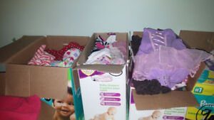 Lot of girls clothing 3-6, 6, 6-9 and 6-12 month