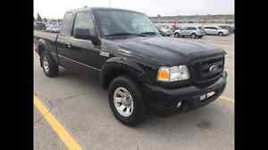 2010 FORD RANGER SPORT V6 XCAB, 5 SPEED MANUAL, NO ACCIDENT