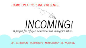 Incoming! A project for refugee, newcomer and immigrant artists