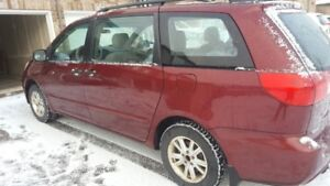 Red 2006 Toyota Sienna CE in Great Shape