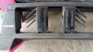 rack a skis Pinso SportRack / rooftop ski rack