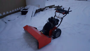 "Ariens Power Brush 28"" Snow Sweeper - Less than 1 hour of use"
