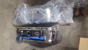 Rear ford 150 chrome bumpers  2009 2014