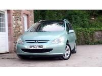 Peugeot 307 SW 2.0HDi Estate 12 month mot full service history cambelt done