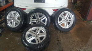 Mags 17 inch with  Firestone Tires 5/32 left
