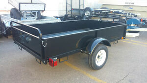 4x8  Multifunctional Salter Sport Utility Trailer on SALE!!!