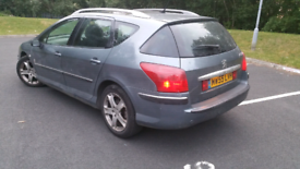 Peugeot 407 2.0 X-LINE HDI SW, NEW CAMBELT very good runner QUICK SALE
