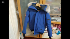 used Canada Goose Chiliwack Blue Jacket Sz Small