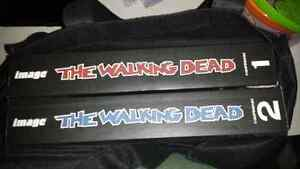 Walking dead Compendiums 1 and 2