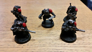 Warhammer has space marine scouts wants imperial guard