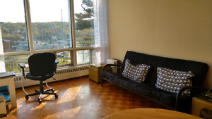 Bright, 1-bedroom overlooking Northwest Arm - sublet/takeover