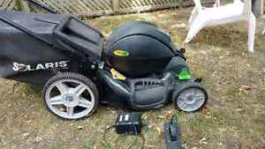 Electric Lawnmower (Battery powered).