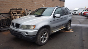 Bmw x5 3.0 l 2001 parts out only !