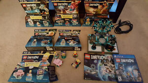 Lego Dimensions PS4 +7 level/fun packs