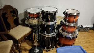 2 Pearl Drum Kits For Sale