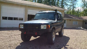 1997 Land Rover Discovery 4x4, Snorkel, Winch Bumper