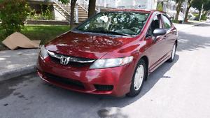 Honda Civic en excellent état