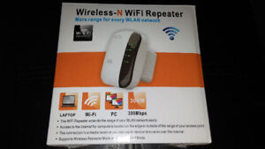 Brand new Wifi Extender/Repeater