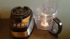 Food Processor - Black and Decker Wide Mouth
