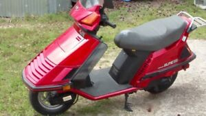 1985 Honda Elite scooter for parts