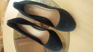 Black Suede Brand New ALDO Shoes - for sale !