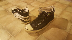 CONVERSE double style hi tops