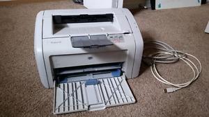 HO LaserJet 1018 Printer