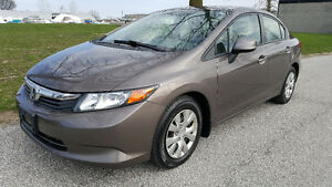 2012 Honda Civic Bluetooth Sedan