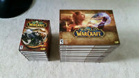 Unopened WoW Battle Chests x9 and unopened MoP x6