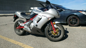 2006 Kawasaki ninja 650r excellent condition.