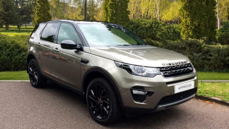 2017 land rover discovery sport 2 0 sd4 240 hse black 5dr 7 automatic diesel in royal. Black Bedroom Furniture Sets. Home Design Ideas