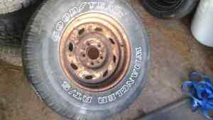 Spare tire ford ranger