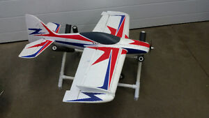 rc airplane e flite visionaire