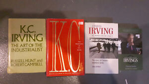 4 local interest books about Irving family