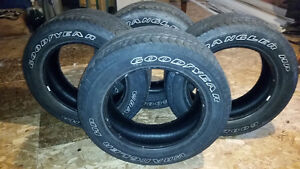 Set of 4 Goodyear Wrangler  Tires