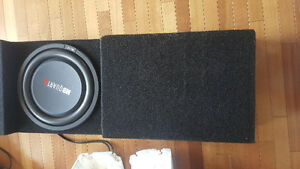 "12"" Mb Quartz sub and box"