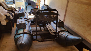 2-Person INFLATABLE PONTOON BOAT For Sale- FISHING