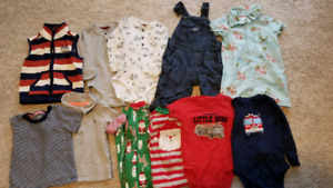 Carter's Baby Clothing Lot Size 18M