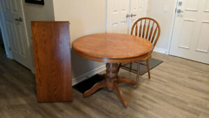 Round wooden desk for sale