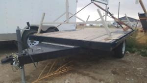 New 82 x 120 flat deck trailer