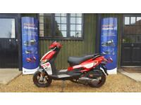 Motorini GP125I Scooter Moped 125 125cc learner legal 2 year Warranty