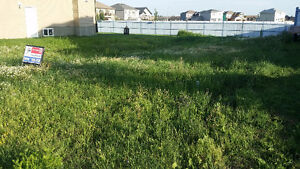 Lot for sale in Morinville or RV storage