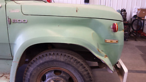 Wanted fender passenger side fender for dodge 600