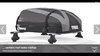 THULE soft car top carrier used once $80 obo
