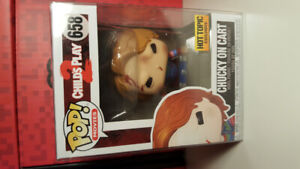funko pop Chucky on cart hot topic exclusive