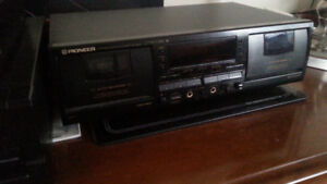 Double Stereo Cassette Deck Pioneer Ct W704rs Dolby Synchro High