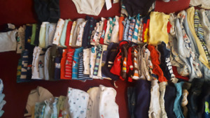 0-3 Months Boys Clothes - 100+ pieces, some NWT Only $30