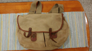 Brady Halesowen Canvas Fly Fishing Bag /Hunting Bag